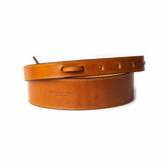 """Westley Richards 2"""" Leather Rifle Sling in Mid Tan"""