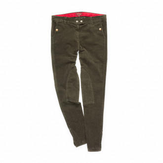 T.ba Velveteen Breeches - Green