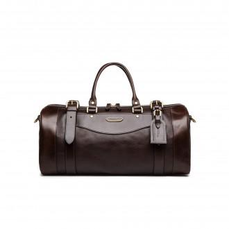 Westley Richards Small Sutherland Bag in Dark Tan
