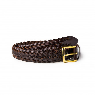 Westley Richards Hand Plaited Belt