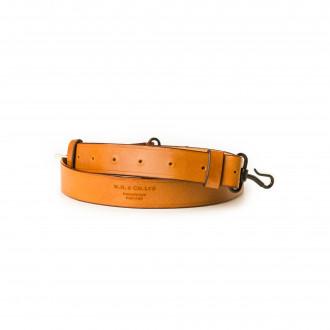 Westley Richards Traditional Hook & Eye Rifle Sling in Mid Tan