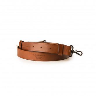 Westley Richards Traditional Hook & Eye Rifle Sling in Dark Tan