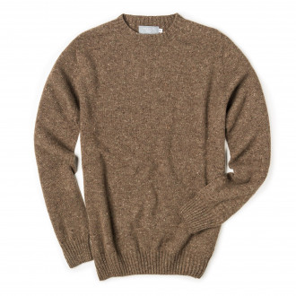 Westley Richards Longhaven Cashmere Sweater in Foal