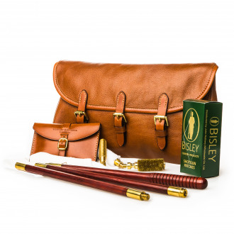 Westley Richards Redfern Cleaning Pouch with Accessories in Mid Tan