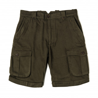 Westley Richards Safari Shorts in Brushed Green
