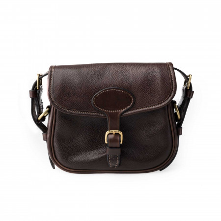 'Perfecta' Cartridge Bag in Dark Tan