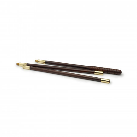 Rosewood 3pc Cleaning Rods