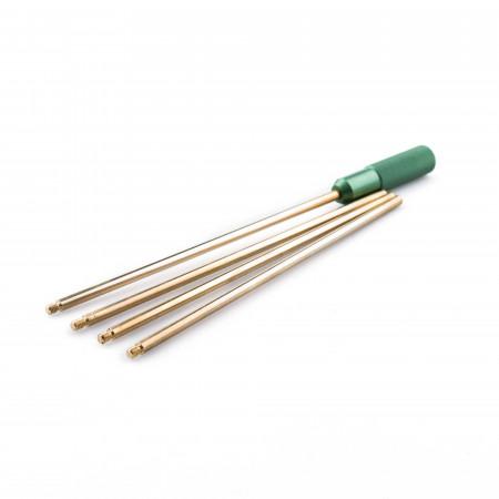 Napier 4 Piece Brass Rifle Cleaning Rod