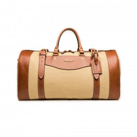 Westley Richards Medium Sutherland Bag in Safari and Mid Tan
