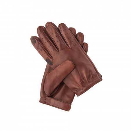 Perforated Leather Shooting Gloves in Left Handed Shooter