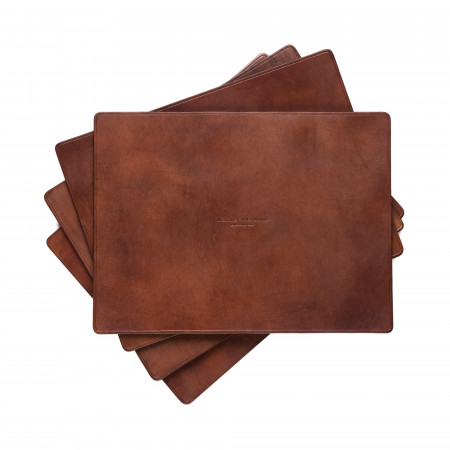 Leather Place Mat Set