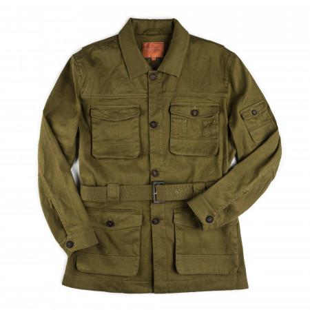 Westley Richards Selous Safari Jacket in Savanna Green