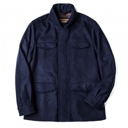 Men's Virgin Wool Field Coat