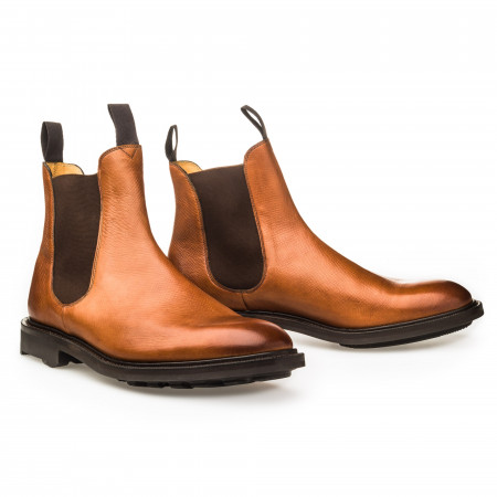 Edward Green & Co. Newmarket Boot in Chestnut Utah