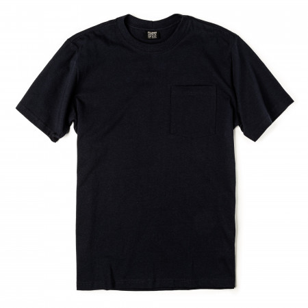 Short Sleeve Outfitter One-Pocket T-Shirt in Dark Navy