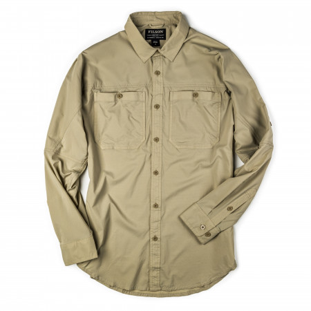 Alagnak Long Sleeve Shirt in Sand Bar
