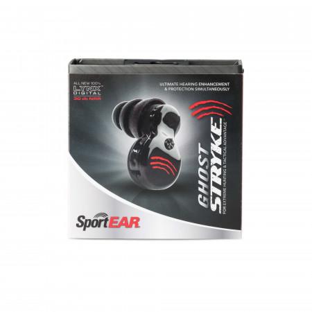 SportEAR Ghost Stryke Plugz - Black