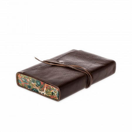 Westley Richards Leather Notebook in Dark Tan