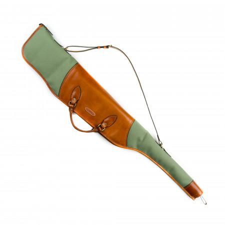 Scoped Taylor Rifle Slip in Safari Green & Mid Tan