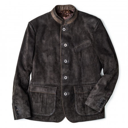 Habsburg Men's Frank Suede Jacket