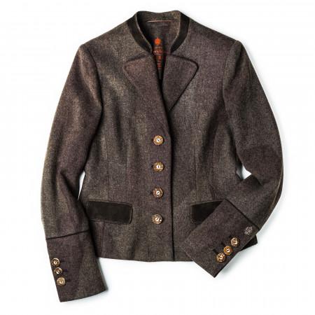 Ladies Viktoria Wool Camouflage Jacket