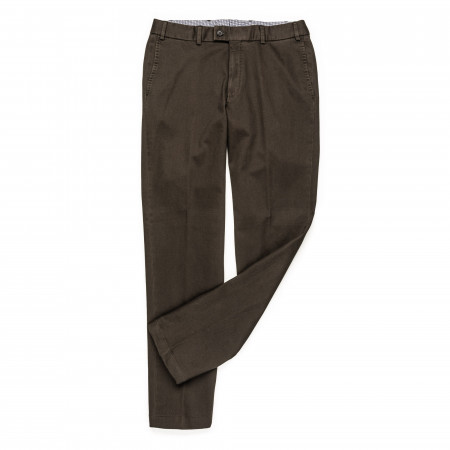 Hiltl Thermal Trousers in Dark Green