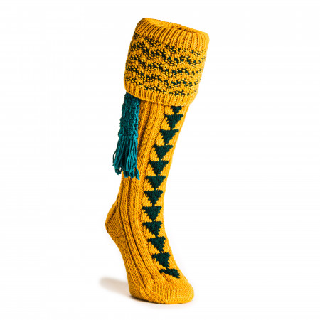 Whitfield Shooting Sock in Mustard
