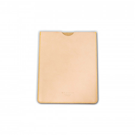 Westley Richards Leather Ipad Case in Natural