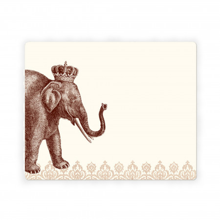 Lucky Elephant Mousepad Notepad