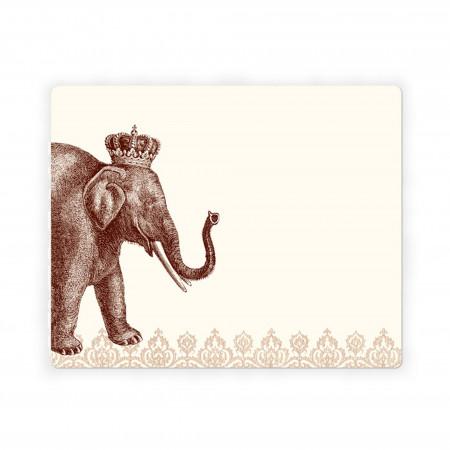 Alexa Pulitzer Lucky Elephant Mousepad Notepad