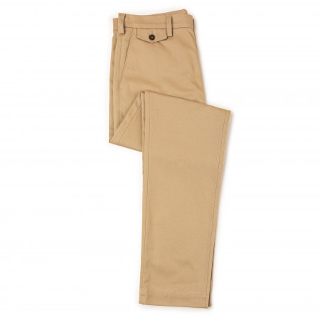 Westley Richards Pathfinder Twill Trousers in Stone