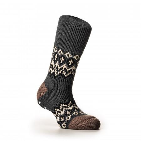Nordic Socks in Charcoal