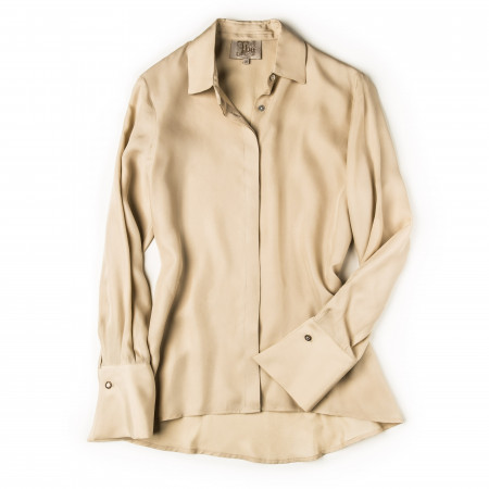 T.ba Ladies Rania Shirt in Beige