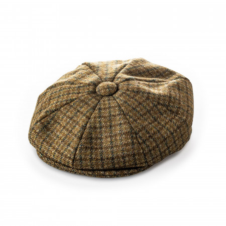 Redford Tweed cap in Hawick Country Check