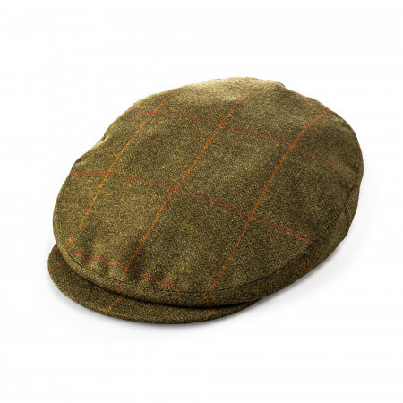 Bond Tweed cap in Langlee Green