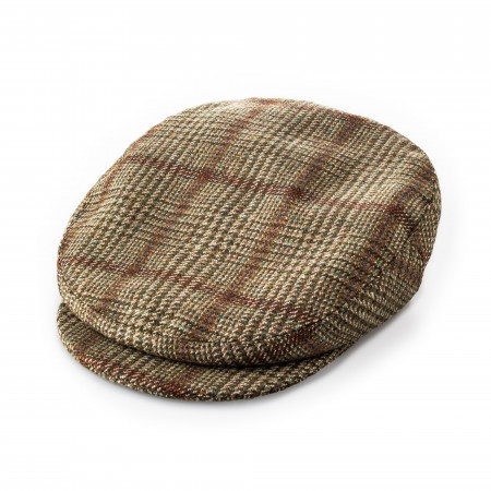 Westley Richards Bond Tweed cap in Lowland Green