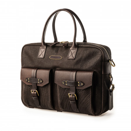 Westley Richards Bournbrook Briefcase in Buffalo