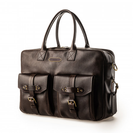 Bournbrook Briefcase in Dark Tan