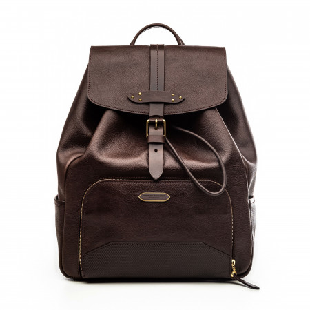 Westley Richards Bournbrook Rucksack in Dark Tan