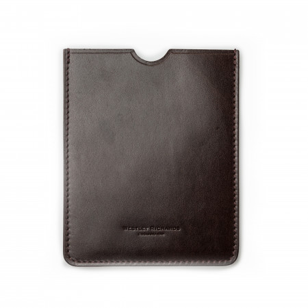 European Certificate Wallet in Dark Tan