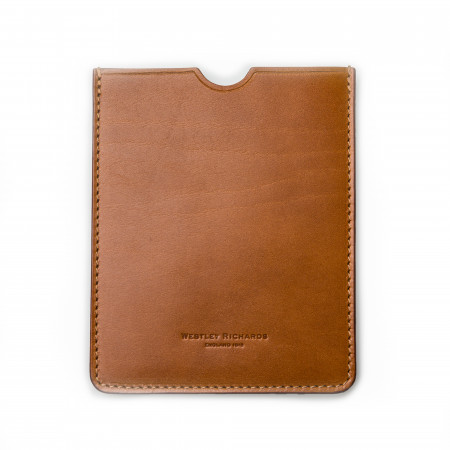 European Certificate Wallet in Mid Tan