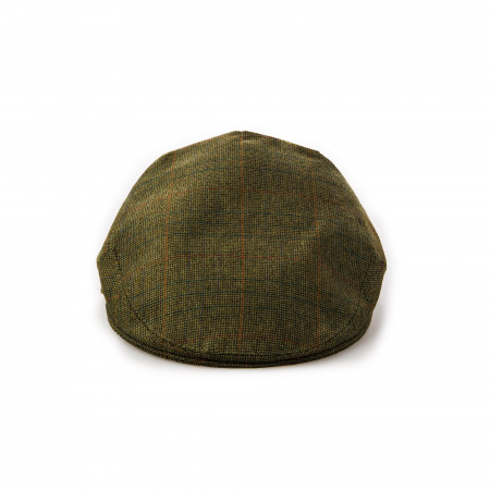 Westley Richards Kinloch Tweed Cap in Signature Tweed