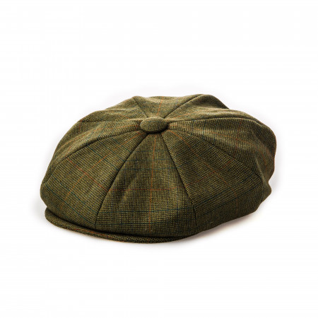Westley Richards Redford Tweed Cap in Signature Tweed