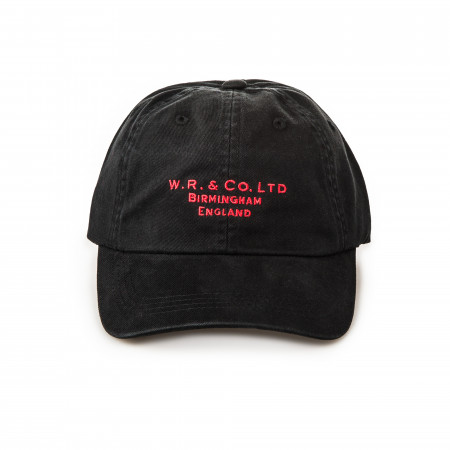 W. R. & Co. Twill Logo Cap -  Black