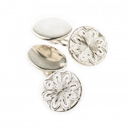 Antique Rosette Cufflinks