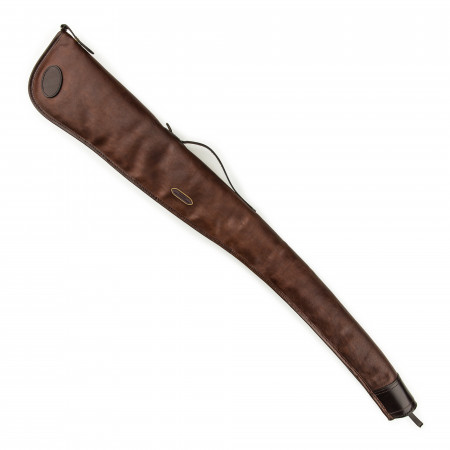 Deeley Shotgun Slip in Dark Tan Patterned