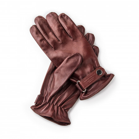 Leather Shooting Gloves - Tan - LH