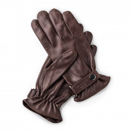 Leather Shooting Gloves - Mink- LH