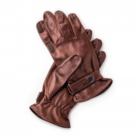 Westley Richards RH Leather Shooting Gloves in Tan
