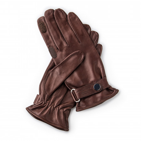 Westley Richards RH Leather Shooting Gloves in Mink